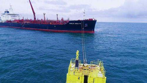 Arrival of the first Vessel at the Pinnacle Oil and Gas OffshoreOnshore Liquid Bulk Terminal Lekki. (1)