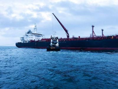 Arrival of the first Vessel at the Pinnacle Oil and Gas OffshoreOnshore Liquid Bulk Terminal Lekki. (2)