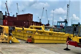 Construction the of Pinnacle Oil and Gas Offshore Onshore Liquid Bulk Terminal at Lekki Free Zone (1)
