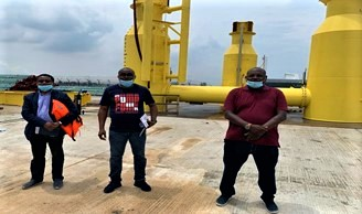Construction the of Pinnacle Oil and Gas Offshore Onshore Liquid Bulk Terminal at Lekki Free Zone (3)