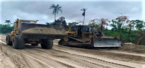 Onshore Pipeline Right of Way Preparatory Work